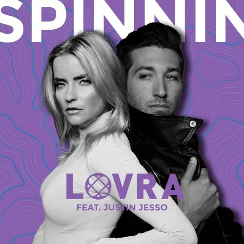 LOVRA Enlists the Voice of Justin Jesso for 'Spinnin'