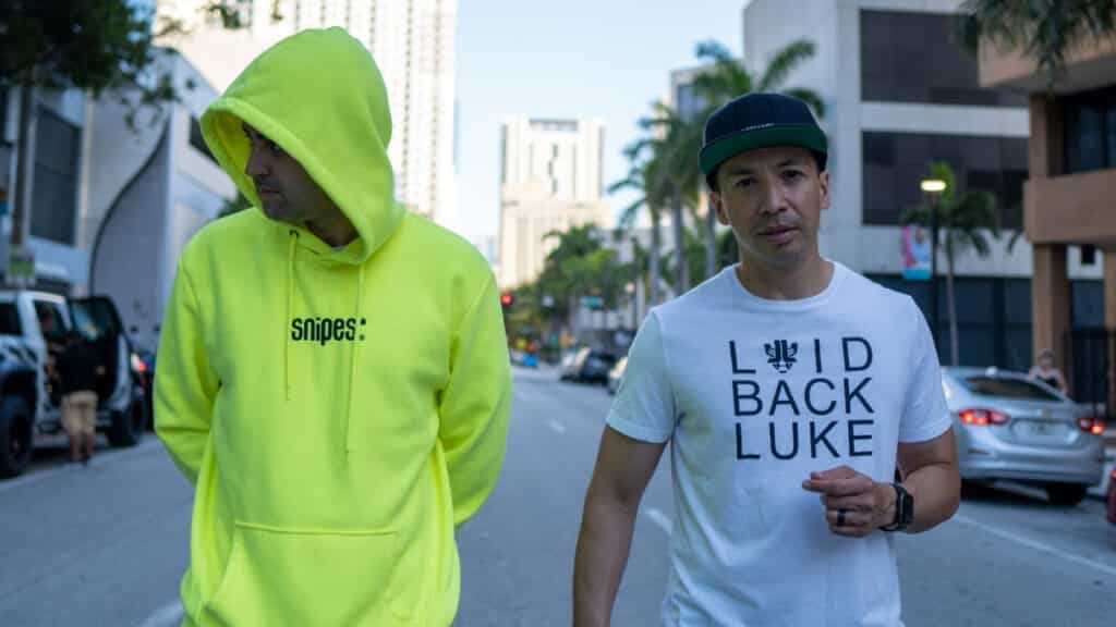 """Laidback Luke Joins Purple Fly With His Energetic New Single """"Cielo,"""" Ft. BLVD."""